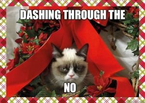 grumpy christmas