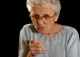grandma scolding
