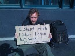 slept with lohan