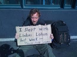 slept with lohan