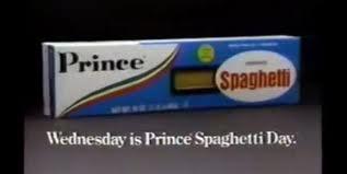 prince spaghetti day