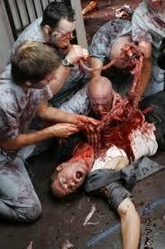 zombie with intestines