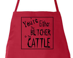 butcher or cattle