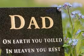 dad grave