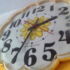 70s kitchen clock