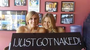 just got naked
