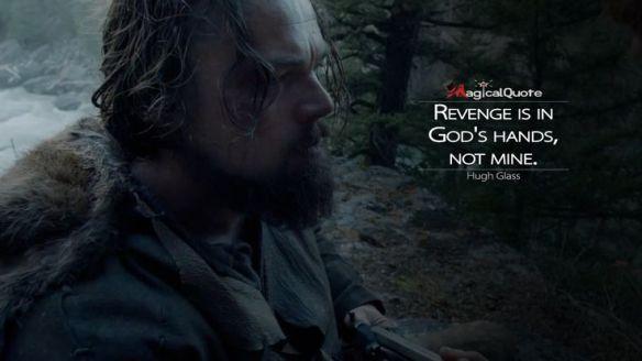 revenge is not